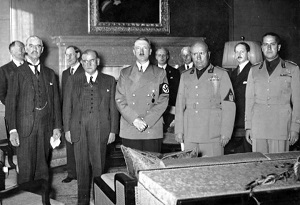 Signature des accords de Munich… 30 sept. 1938
