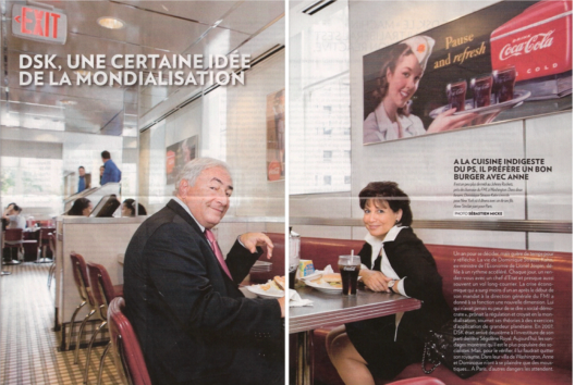 Photo de Paris Match, n°3150, octobre 2009